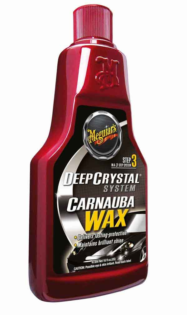 Meguiars Step 3 Deep Crystal Carnauba Wax Liquid