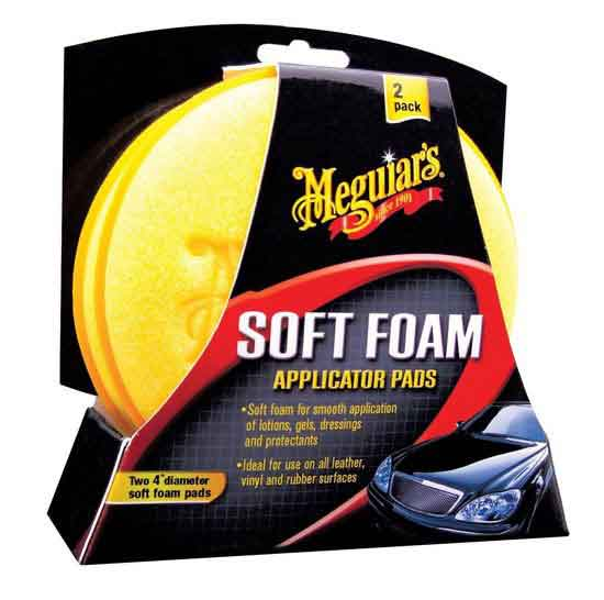 MEGUIARS SOFT FOAM APPLICATOR PADS 2-PACK
