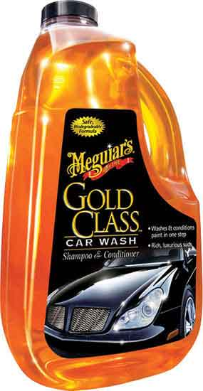 Meguiars Gold Class Car Wash Shampoo and Conditioner