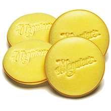 MEGUIARS SOFT FOAM APPLICATOR PADS 4 STUKS