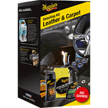 Meguiars Leather & Carpet Detailing Kit